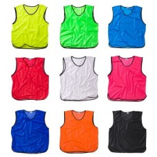TRAINING BIBS Raudona 01