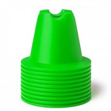 CONE SET 10 CM Green 10 pices