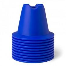 CONE SET 10 CM Blue 10 pices