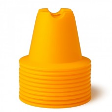 CONE SET 10 CM Yellow 10 pices