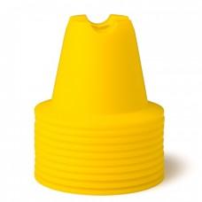 CONE SET 10 CM Neon-Yellow 10 pices