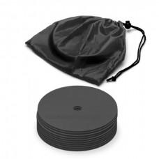 Marking discs ø 15,5 cm Set of 12 black