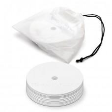 Marking discs ø 15,5 cm Set of 12 white