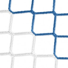 Goal net (blue-white) – 7,32 x 2,44 m, 4 mm PP, 80 200 cm