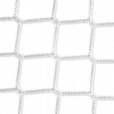 Goal net (white) – 7,32 x 2,44 m, 4 mm PP, 200 200 cm