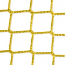 Goal net yellow - 3 x 2 m, 4 mm PP, 80 100 cm
