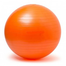 Gymnastics Ball Orange Size 65 cm