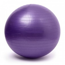 Gymnastics Ball Purple Size 75 cm
