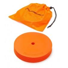 Marking discs ø 21 cm Set of 12 orange