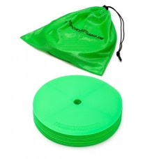 Marking discs ø 21 cm Set of 12 green