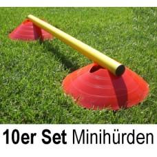 Mini Hurdles - hurdle system (set of 10)