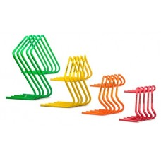 5 Mini hurdles - XXL - width 60 cm yellow