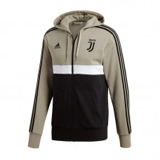 ADIDAS JUVENTUS 3 STRIPES FULL ZIP HOOD 054