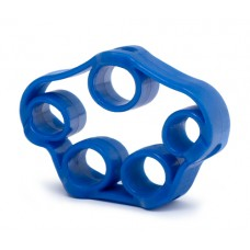 Finger trainer - elastic blue