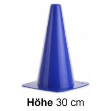 Cones in blue - Height: 30 cm