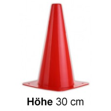 Cones in red- Height: 30 cm