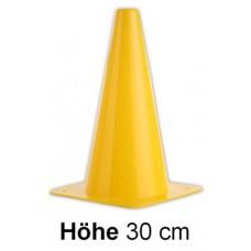 Cones in yellow - Height: 30 cm