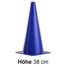 Cones in blue - Height: 38 cm