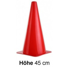 Cones in red - Height: 45 cm