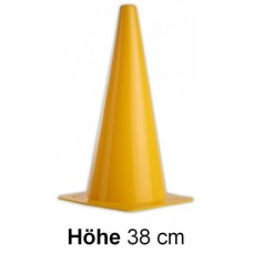 Cones in yellow - Height: 38 cm