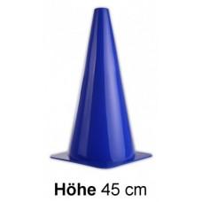 Cones in blue - Height: 45 cm