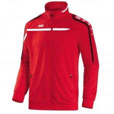 Polyester jacket Performance red-white-black