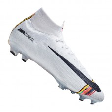 Nike Mercurial Superfly VI Elite FG White 009