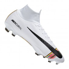 Nike Mercurial Superfly VI Pro FG White 009