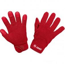 Jako Player glove fleece red 01