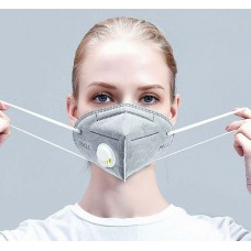 Respirator mask with valve - KN95