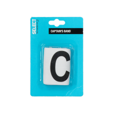 CAPTAINS ARMBAND SELECT WHITE