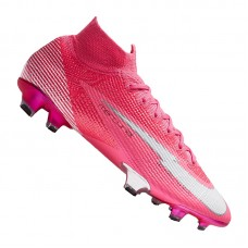 Mercurial Superfly VII Mbappe Elite FG Pink 611