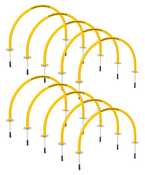 10 Goal arch - for passing and technics training high 42 cm